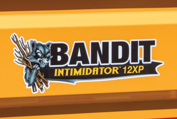 Bandit INTIMIDATOR™ 12XP Towable Drum Style Hand-Fed Chipper full