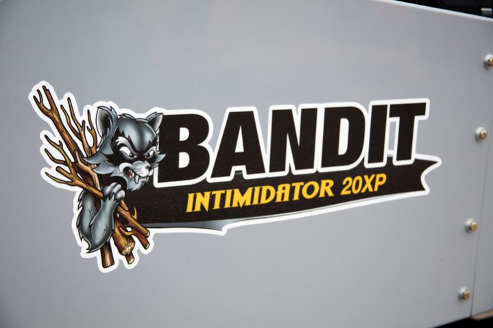 Bandit Intimidator® 20XP Towable DRUM Style Whole Tree Chipper full