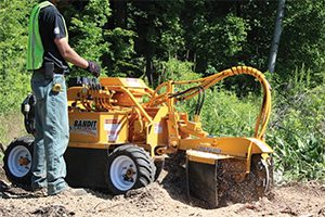 27HP Stump Grinder Rental