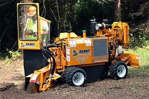 44HP Stump Grinder Rental