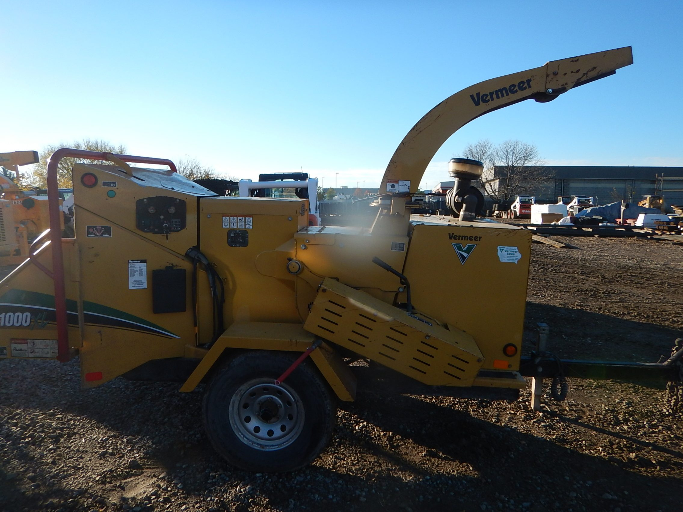 Used 2009   BC1000XL VERMEER CHIPPER - For Sale in KS and MO