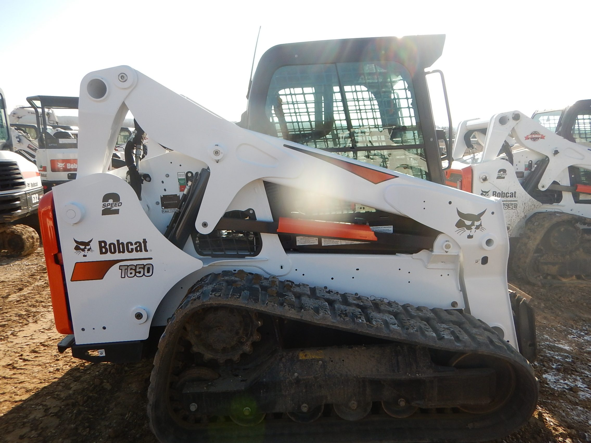 Used 2017 BOBCAT T650 COMPACT TRACK LOADER - For Sale in KS