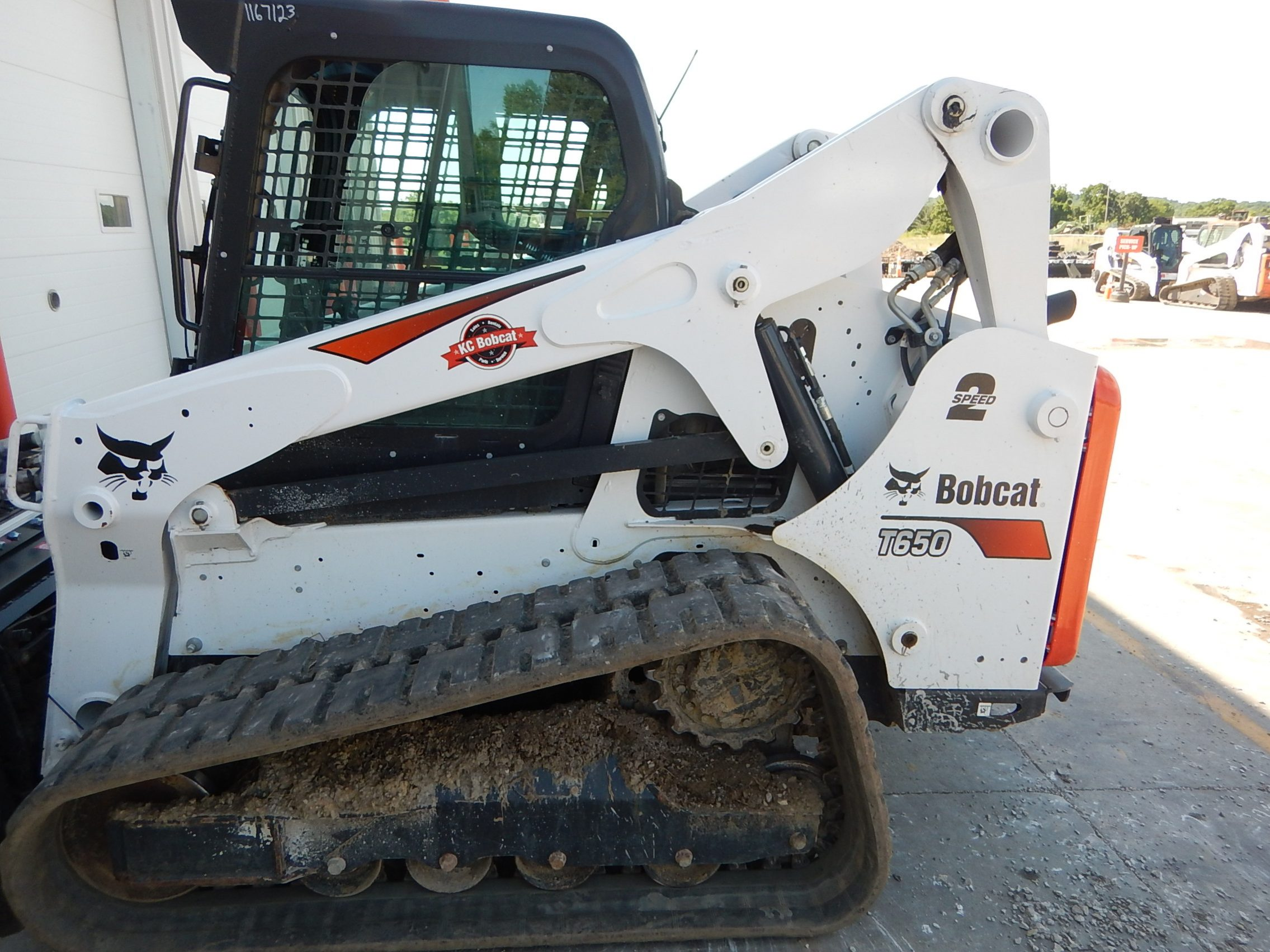 Used 2018 BOBCAT T650 COMPACT TRACK LOADER - For Sale in KS