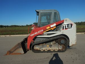 Used  TAKEUCHI TL8
