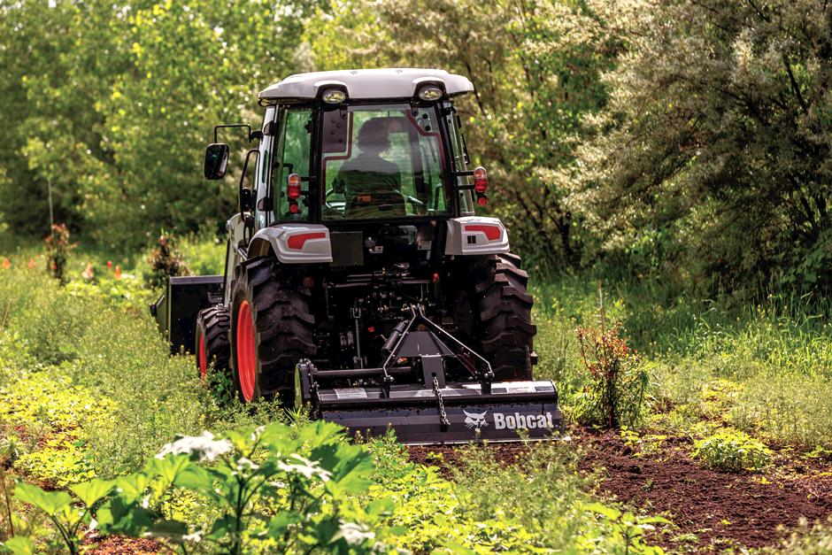 Bobcat CT5558 Compact Tractor full